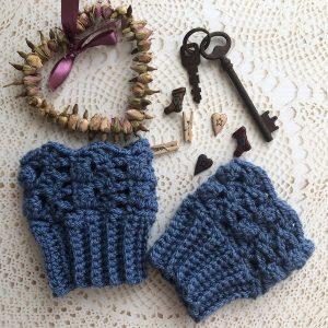 wrist cosy crochet pattern